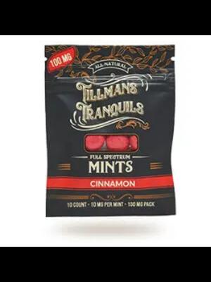 Tillman's Tranquils Tillman's Tranquels CBD Mints, Cinnamon, 10mg, 10ct
