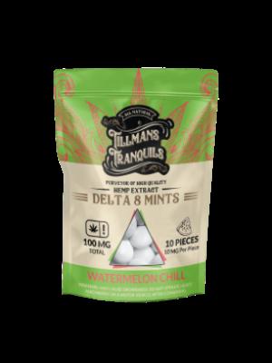 Tillman's Tranquils Tillman's Tranquils Delta 8 THC Mints, Watermelon Chill, 10mg, 10ct