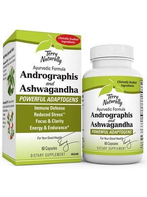 TERRY NATURALLY Terry Naturally Andrographus & Ashwagandha, 60cp