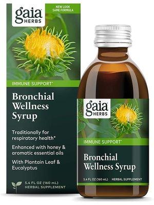 GAIA HERBS Gaia Bronchial Wellness Syrup 5.4oz