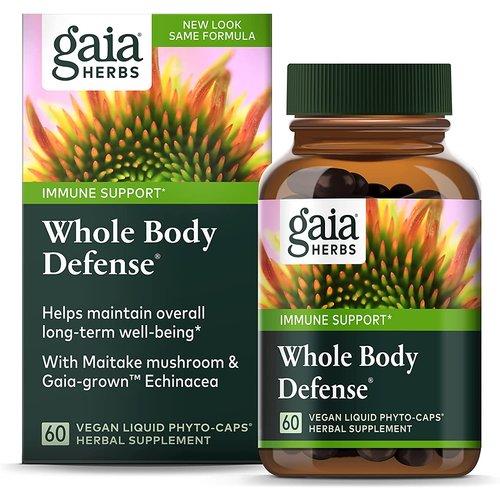 GAIA HERBS Gaia Whole Body Defense, 60cp