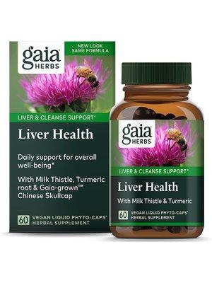 GAIA HERBS Gaia Liver Health, 60cp