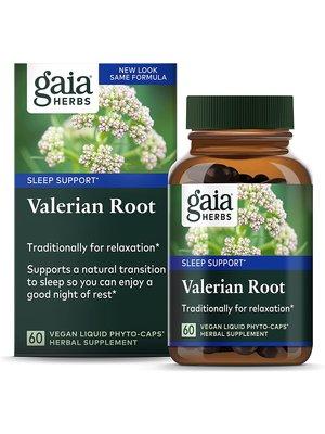 GAIA HERBS Gaia Valerian Root LP, 60cp