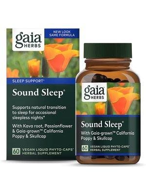 GAIA HERBS Gaia Sound Sleep, 60cp