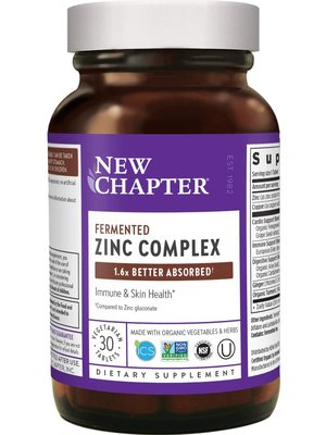 NEW CHAPTER New Chapter Fermented Zinc Complex, 30t