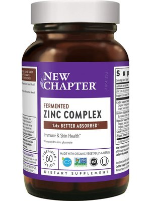 NEW CHAPTER New Chapter Fermented Zinc Complex 60t