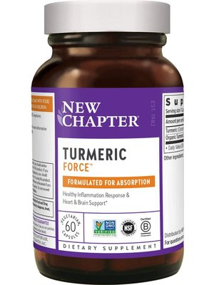 NEW CHAPTER New Chapter Turmeric Force 60vc
