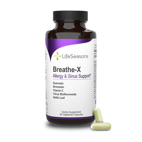 Lifeseasons Lifeseasons Breathe-X, 90cp.