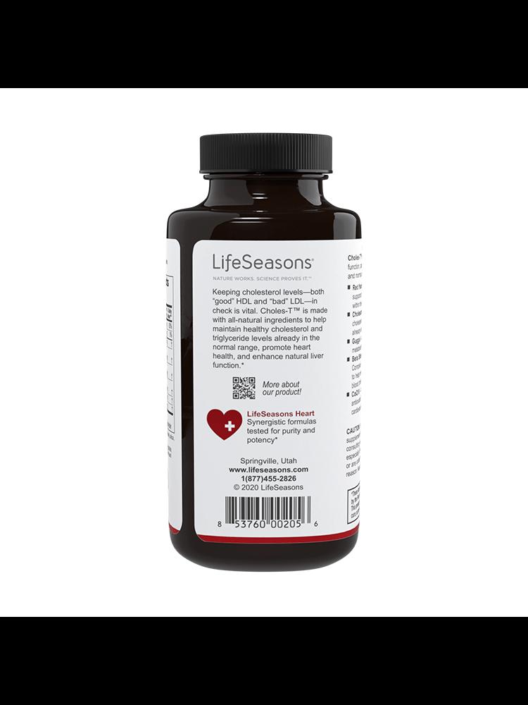 Lifeseasons Lifeseasons Choles-T, 90cp.