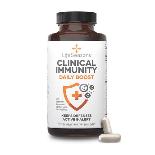 Lifeseasons Lifeseasons Clinical Immunity, Daily Boost, 60cp.