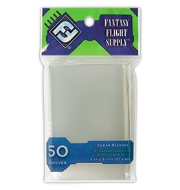 Fantasy Flight Supply Standard American Sleeves 57x89mm 50pk Green
