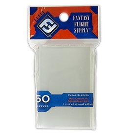 Fantasy Flight Supply FFG Mini European Sleeves 44x68mm 50pk Red