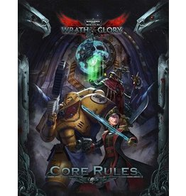 Ulisses WARHAMMER 40K RPG: WRATH AND GLORY HARDCOVER RULEBOOK