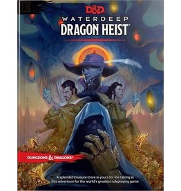 Wizards of the Coast D&D 5E: WATERDEEP DRAGON HEIST HC