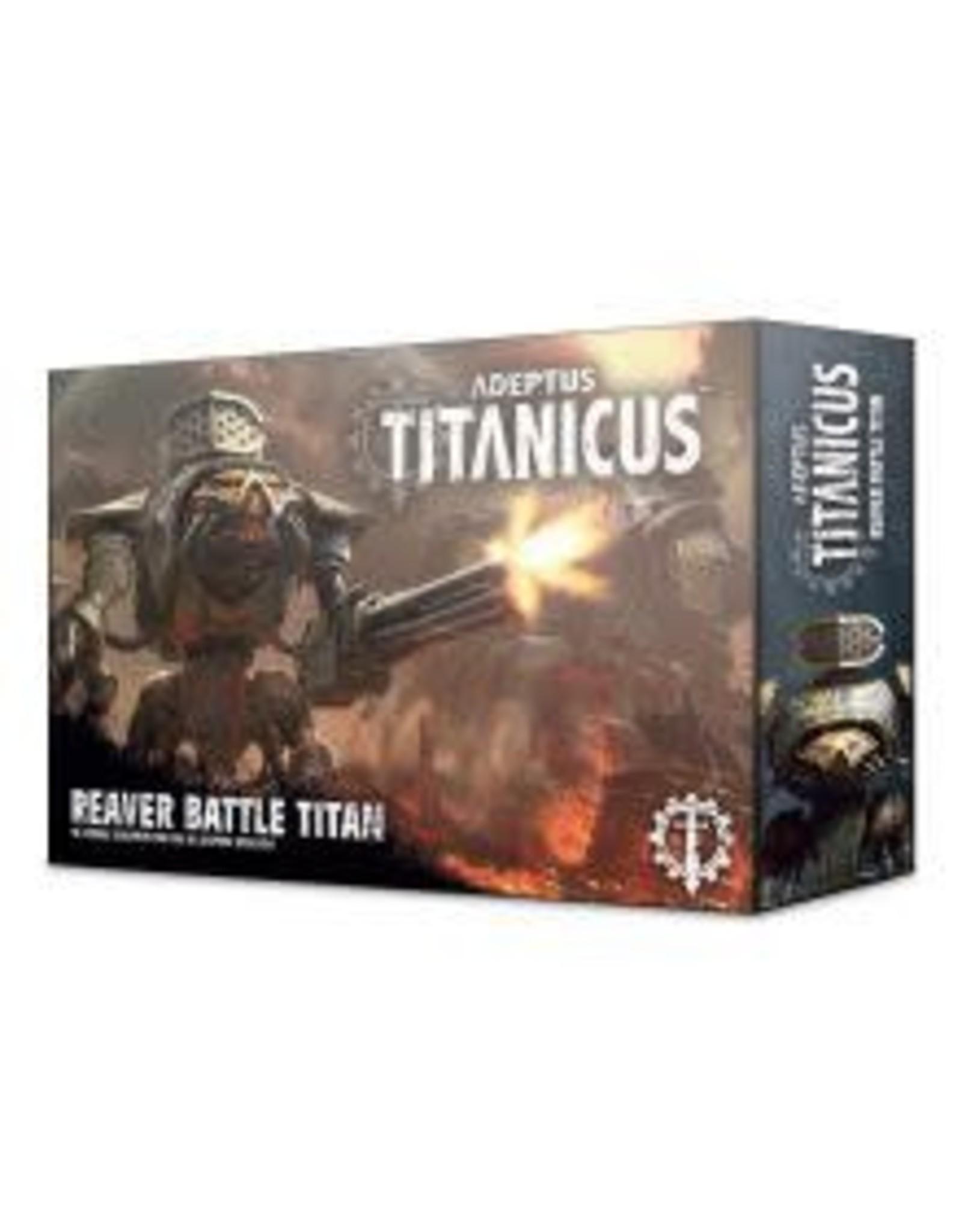 Games Workshop ADEPTUS TITANICUS REAVER BATTLE TITAN