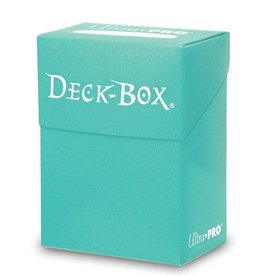 Ultra Pro Deck Box: Ultra Pro Aqua