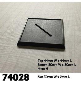 Reaper Mini Base Boss: 2 inch Square Base (10)