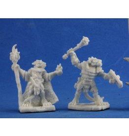 Reaper Mini Bones: Kobold Leaders