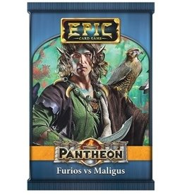 White Wizard Games Epic The Card Game: Pantheon Furios vs Maligus