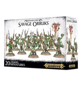 Games Workshop Bonesplitterz: Savage Orruks