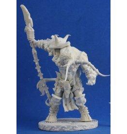 Reaper Mini Bones: Minotaur Demon Lord