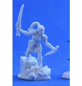 Reaper Mini Bones: Lanelle, Hlaf Elf Rogue