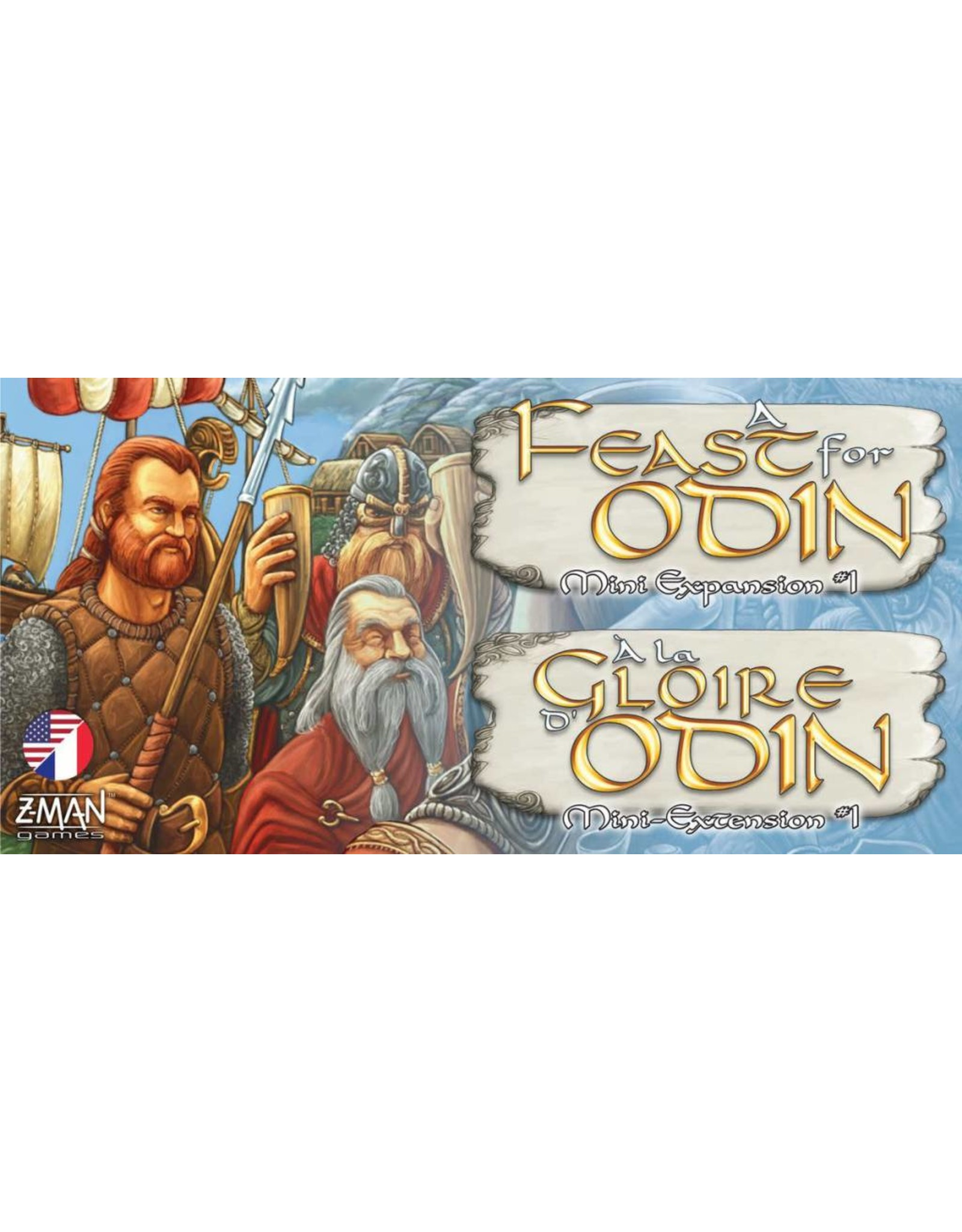 Z-MAN GAMES A FEAST FOR ODIN MINI EXPANSION #1