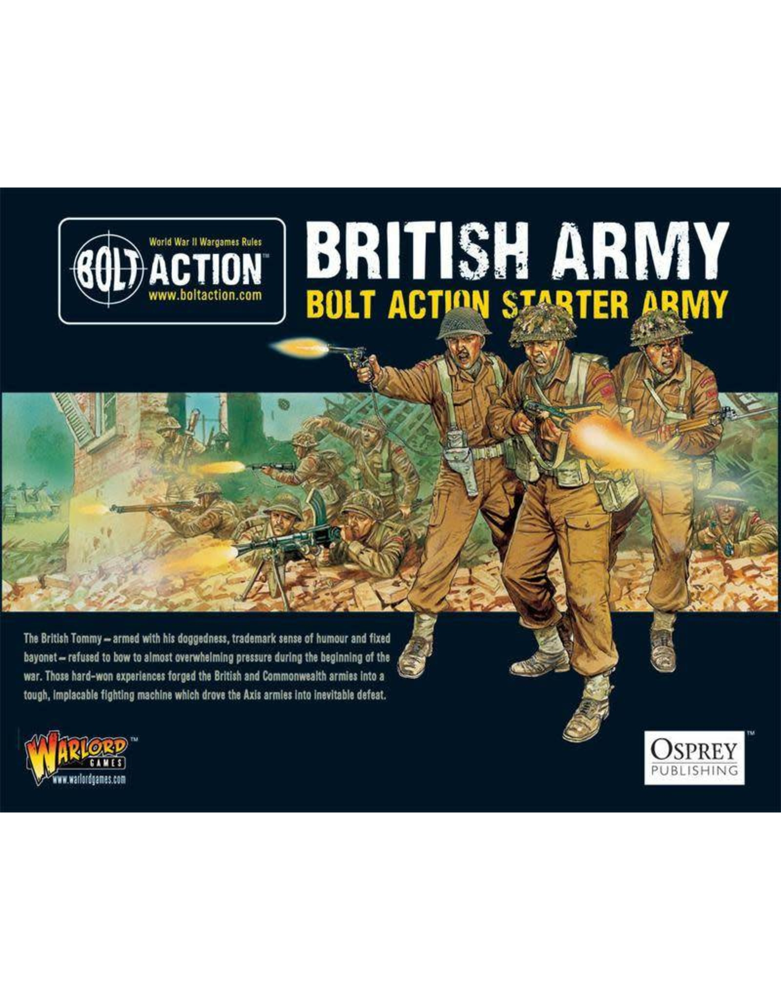 Warlord Games BOLT ACTION: 1,000PT BRITISH ARMY STARTER ARMY