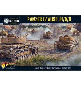 Warlord Games PANZER IV AUSF. F1/G/H MEDIUM TANK (PLASTIC)