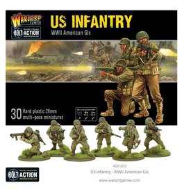 Warlord Games US INFANTRY - WW2 AMERICAN GIS