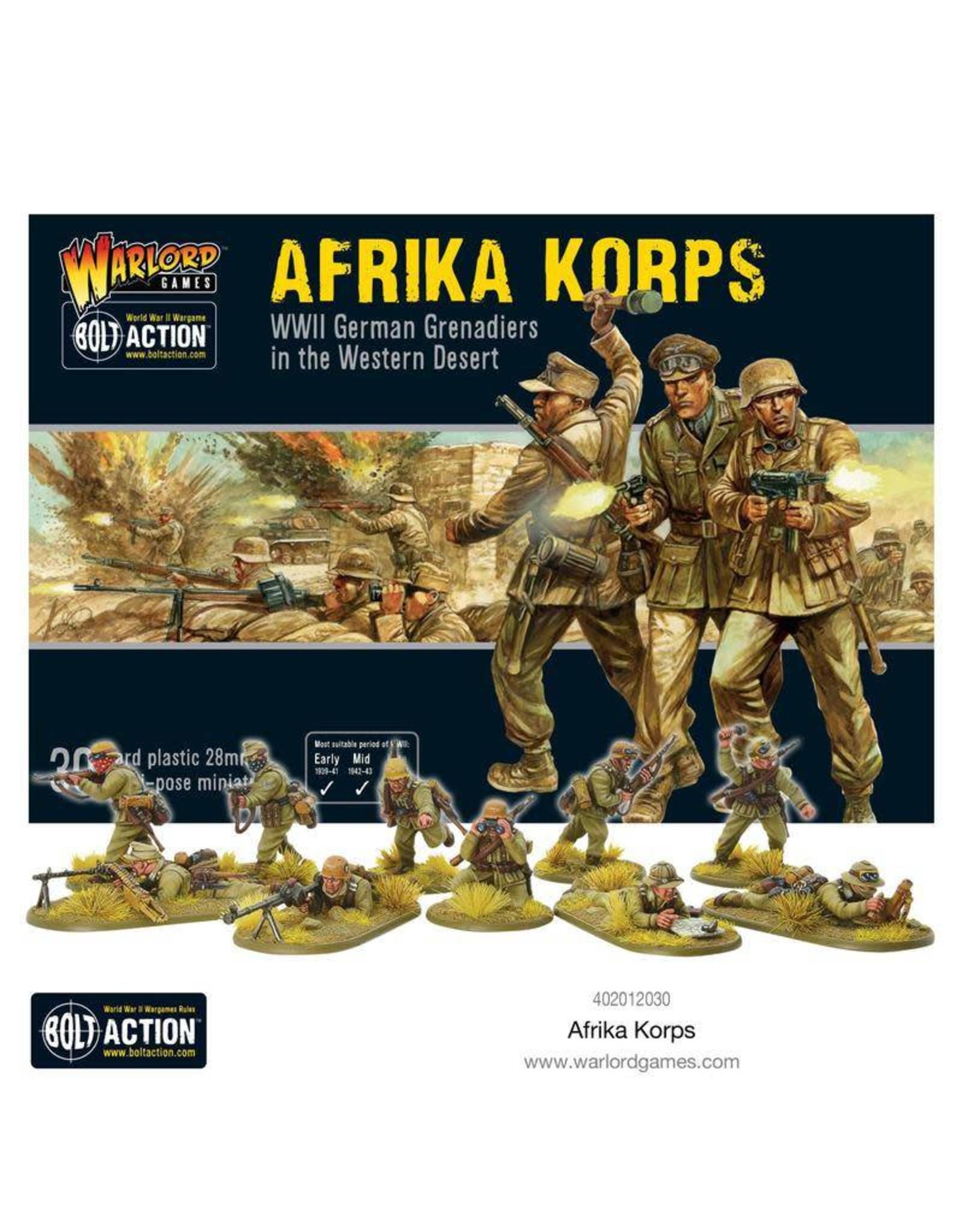 Warlord Games BOLT ACTION: AFRIKA KORPS