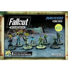 Modiphius Entertainment Fallout: Wasteland Warfare - Survivor's Core