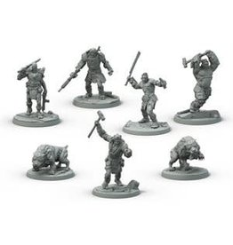 Modiphius Entertainment Fallout: Wasteland Warfare - Super Mutants Core