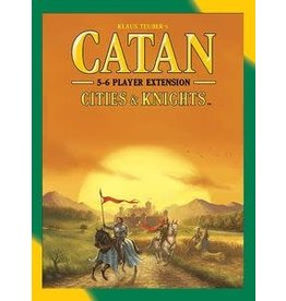 Catan CATAN: CITIES & KNIGHTS 5-6 PLAYER EXTENSION