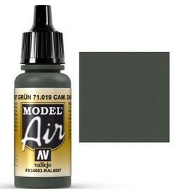 vallejo Model Air: Camouflage Dark Green 17ml