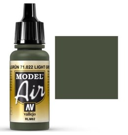 vallejo Model Air: Light Green RLM82 17ml