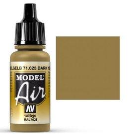 vallejo Model Air: Dark Yellow 17ml