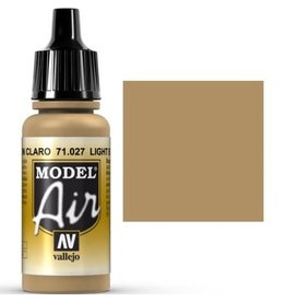vallejo Model Air: Light Brown 17ml