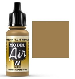 vallejo Model Air: Middle Stone 17ml