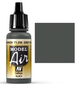 vallejo Model Air: Grey Green RLM74 17ml