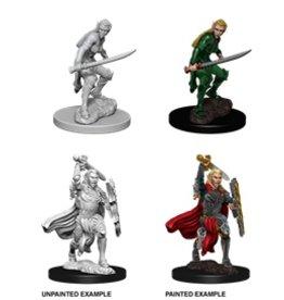 Wizkids D&D Nolzur's Minis: Elf Fighter Female
