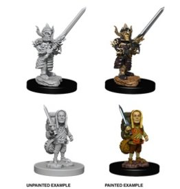 Wizkids D&D Nolzur's Minis: Halflng Fighter Male