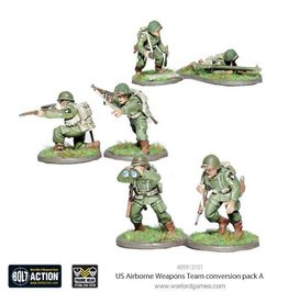 Warlord Games US Airborne Weapons Team Conversion Pack A