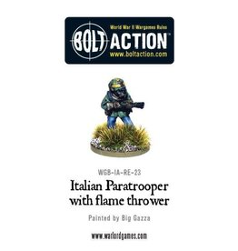 Warlord Games Italian Paratrooper with Flame Thrower
