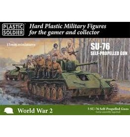 Plastic Soldier Russian SU76 Self-Propelled Gun 15MM