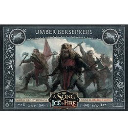 Cool Mini or Not A SONG OF ICE AND FIRE - UMBER BERSERKERS