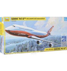 Zvezda Boeing 747-8 1:144