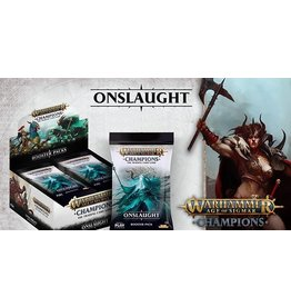 Playfusion WARHAMMER AOS CHAMPIONS CCG ONSLAUGHT BOOSTER BOX