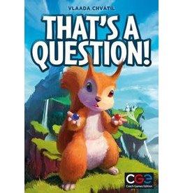 Czech Games Edition That's a Question