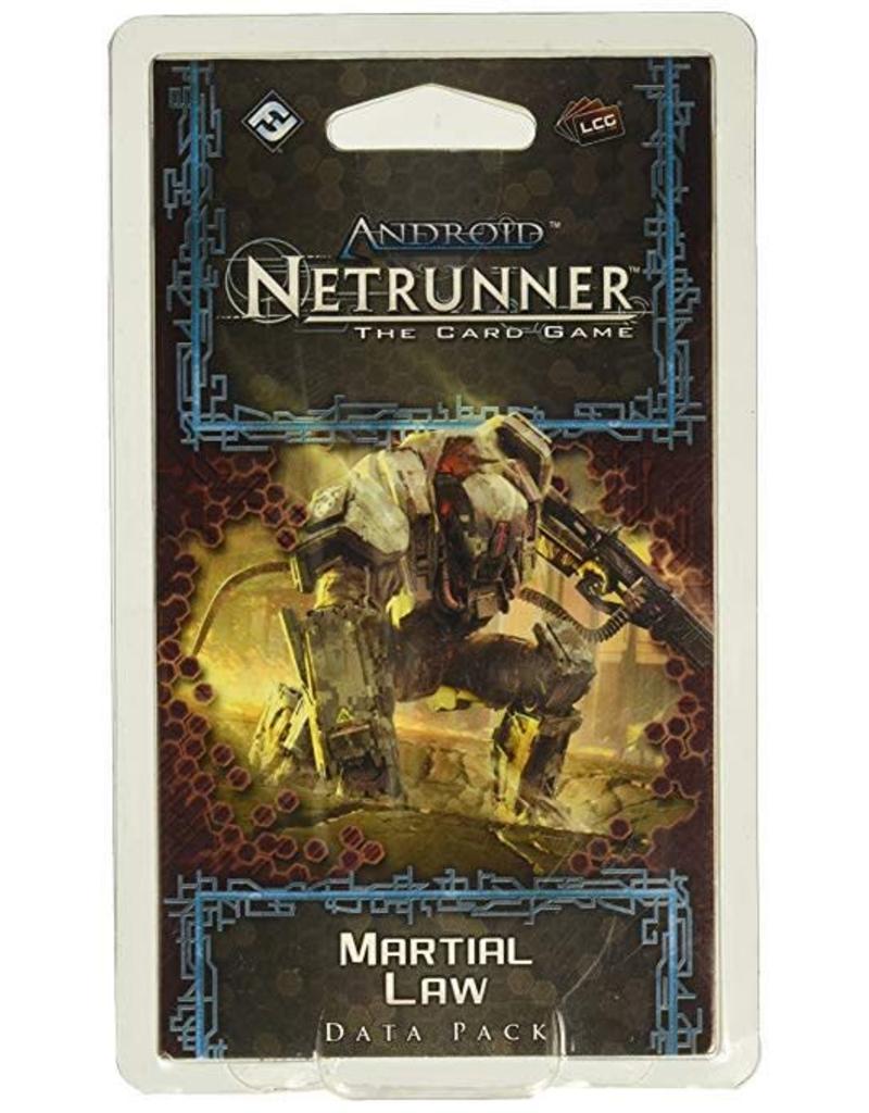 Fantasy Flight Games Android Netrunner LCG: Martial Law